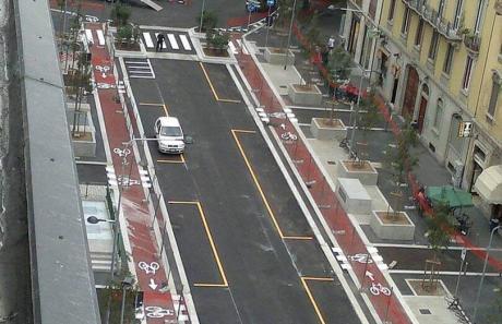 segnaletica stradale in città