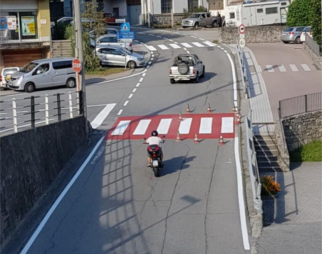 segnaletica stradale - strisce pedonali